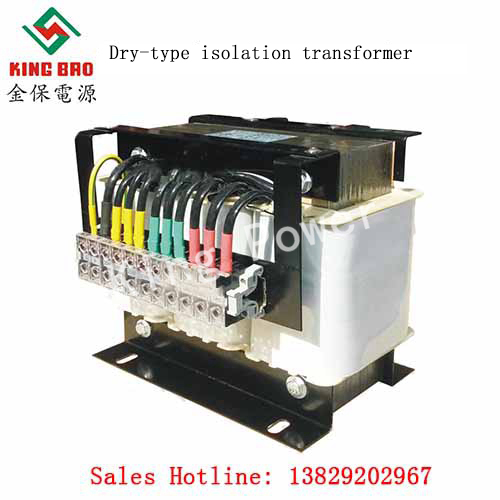 Dry-type isolation transformer